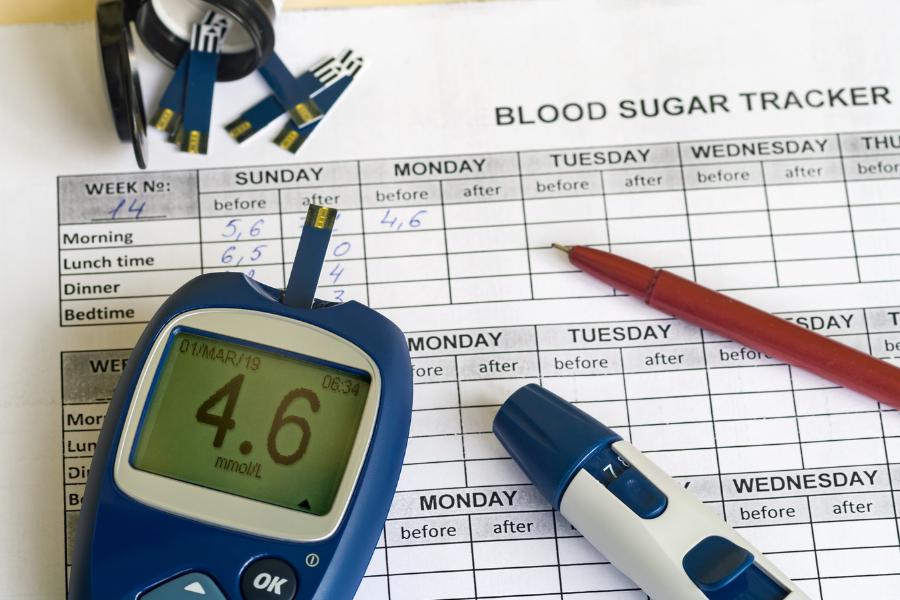 diario controllo glicemia
